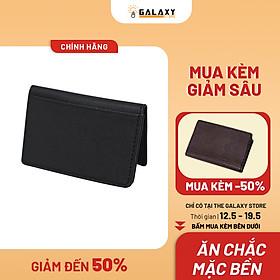 Ví Nam Galaxy Store GVMB01 - Đen (8 x 12 cm)