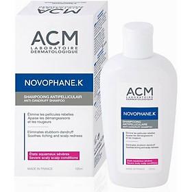 Dầu gội ngăn ngừa gàu mảng, giảm ngứa Novophane K Shampoo 125ml