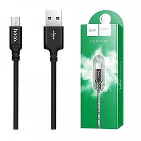 Hình đại diện sản phẩm Cáp Sạc USB Sang Micro Cho Android Hoco X14 - Dài 2M