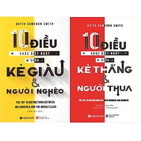 Bộ Sách Giải Mã Bí Mật Của Sự Thành Công ( 10 Điều Khác Biệt Nhất Giữa Kẻ Giàu Và Người Nghèo + 10 Điều Khác Biệt Nhất Giữa Kẻ Thắng Và Người Thua ) (Tặng Notebook tự thiết kế)