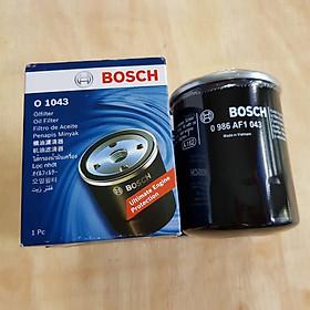 Lọc nhớt (dầu) Bosch O1043 cho xe TOYOTA-ZACE, CAMRY2.4 VIC#: C-110, OE Number: 90915 03004
