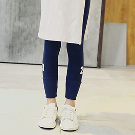 Girls pants Autumn Summer Fashional Wear-resistant Breathable All-match Elastic Leggings 2-7 Years
