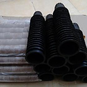 Bộ 200 viên nén xơ dừa Phước Lộc và 200 rọ nhựa NGUYÊN SINH
