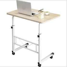 Bàn làm việc đa năng, bàn học thông minh có thiết kế giằng sắt hiện đại - kích thước 80x40cm