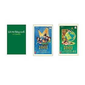 Combo 3 cuốn Bắt trẻ đồng xanh bìa cứng + 1001 câu chuyện phát triển chỉ số EQ  + 1001 câu chuyện phát triển chỉ số IQ