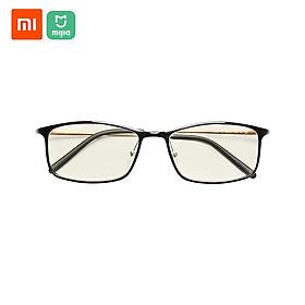 Xiaomi Mijia Chống ánh sáng xanh Kính mắt Tỷ lệ chặn ánh sáng xanh Gọng nhựa hỗn hợp vàng Bảo vệ mắt cho Nam và