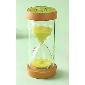 Đồng hồ cát trang trí hình trái cây 15 phú