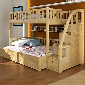 Giường tầng trẻ em cao cấp A101, Trên 1m, Dưới 1m2