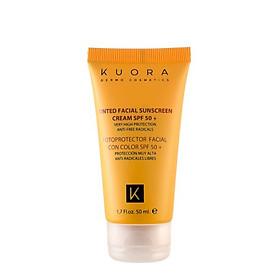 Kem chống nắng kết hợp kem nền Kuora Dermocosmetic Sun cream SPF50+PA+++Tây Ban Nha