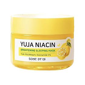 Mặt Nạ Ngủ Dưỡng Trắng Sáng Da Some By Mi Yuja Niacin 30 Days Miracle Brightening Sleeping Mask 60g [ Được Mask 3W Clinic ]