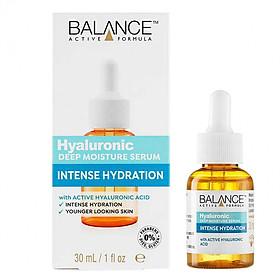 Tinh Chất Cấp Nước, Dưỡng Ẩm Balance Active Formula Hyaluronic Deep Moisture Serum 30ml