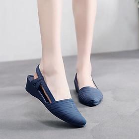 Giày búp bê kín mũi phong cách thời trang Hàn Quốc độc đáo