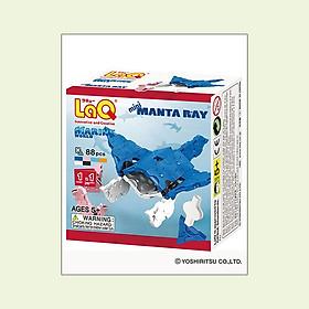 Đồ Chơi Ráp Hình LaQ Marine World Mini Manta Ray