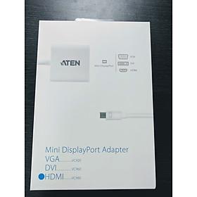Cáp chuyển đổi Mini DisplayPort to HDMI Aten VC980 - Hàng chính hãng