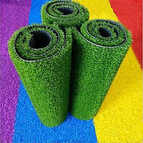 Combo 3 tấm cỏ nhựa nhân tạo cao cấp 50cm x 50cm