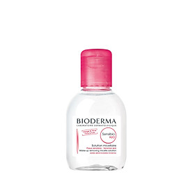 Nước tẩy trang và làm sạch dành cho da nhạy cảm Bioderma Sensibio H2O 100ml (Nhập khẩu)
