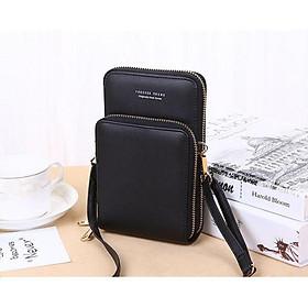 Túi đeo chéo nữ mini sang chảnh, cá tính, 2 ngăn nhỏ gọn, tiện dụng, đựng điện thoại, tiền. Túi nhỏ đi chơi siêu đẹp