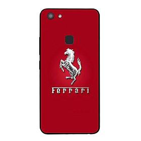 Ốp lưng dành cho điện thoại Vivo Y75 in họa tiết Logo F E R R A R I