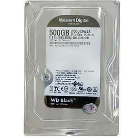 Ổ Cứng Trong WD Black™ 500G/64MB/7200rpm/3.5 - WD5003AZEX - Hàng chính hãng