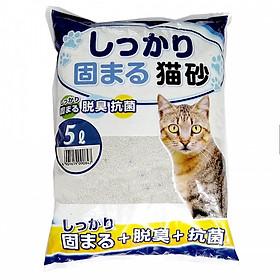 Cát vệ sinh cho mèo nhật bản 5L (Giao mùi ngẫu nhiên)