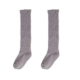 Baby Toddler Infants Girl Cotton Ruffled Knee High Socks Tights Warmer Stockings