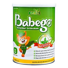 Sữa mát tăng cân, cải thiện biếng ăn và táo bón Babego 3 tuổi trở lên,400G