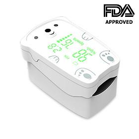 Máy đo nồng độ oxy máu Jumper JPD-500H, Màn hình LED, chỉ số PI dùng cho người lớn và trẻ em (Chứng nhận FDA Hoa Kỳ + xuất USA)