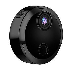 Camera HD Mini Wifi Quay Được Ban Đêm Góc Rộng 150° Có Cảnh Báo Từ Xa - Đen (1080P)