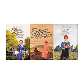 Combo Anne Tóc Đỏ và Ngôi Nhà Mơ Ước ( Tái Bản ) + Anne Tóc Đỏ Làng Avonlea (Tái Bản) + Anne Tóc Đỏ Ở Đảo Hoàng Tử Edward (Tái Bản 2018) - Tặng kèm sổ tay