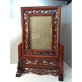 Khung ảnh thờ gỗ hương xịn 100%   20x30 -s 12 n41  c46 cm  đk20x30