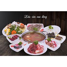 Goimon.net - Hotpot House- Lẩu riêu cua đồng dành cho 2-3 người ăn