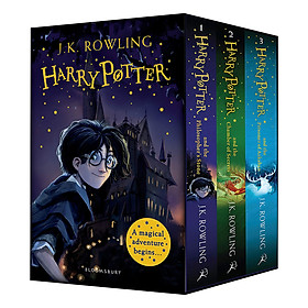 Harry Potter Boxset: A Magical Adventure Begins (No. 1 2 3) (English Book)