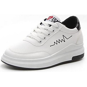Giày Sneaker Thể Thao Nữ YAMET STT56368 Trắng Phối Đen