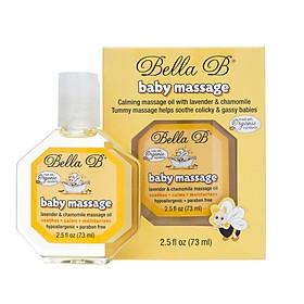 Dầu massage organic cho bé Bella B