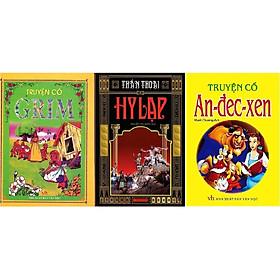 Combo Truyện Cổ Grim + Thần Thoại Hy Lạp + Truyện Cổ Andecxen