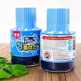Combo 2 Cốc thả bồn cầu tẩy xanh toilet Hàn Quốc Mr Fresh 180g hương ngàn hoa
