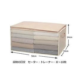 Túi đựng quần áo, chăn màn siêu tiện lợi size vừa nội địa Nhật Bản