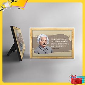 Tranh trích dẫn Albert Einstein WB104