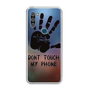 Ốp lưng dẻo cho điện thoại VSMART ACTIVE 3 - 0292 DONTTOUCHMYPHONE - Hàng Chính Hãng