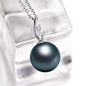 Hình đại diện sản phẩm Mặt Dây Chuyền Ngọc Trai Đen Demi Jewels 11-12mm