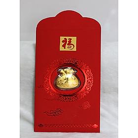 Bao Lì Xì Vàng 24k Túi Tiền (BLX_TTIEN)