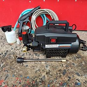 Máy phun xịt rửa xe awa có chĩnh áp công suất 2800W cực mạnh - hoạt động cực êm tặng bình bọt tuyết và thanh nối dài vòi xịt