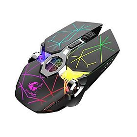 Chuột Không Dây Gaming Led Siêu Đẹp FREE WOLF X13 Pin Sạc Dùng Siêu Trâu Chuột Máy Tính Không Dây Đẹp- 4089-Hàng Nhập Khẩu (màu ngẫu nhiên)