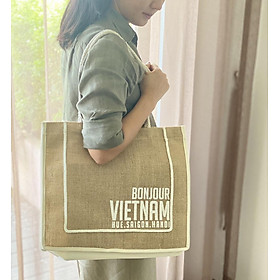 Túi vải đay Bonjour Vietnam