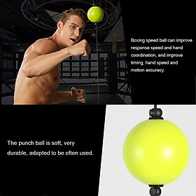 Boxing Quick Puncher Reflex Ball Boxing Speed Ball Fitness Training for Sports Professional Fitness Equipment-2