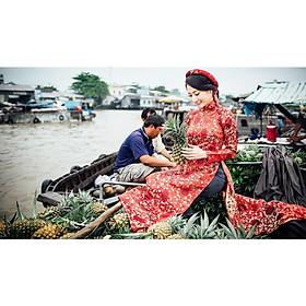 Tour chợ nổi Cái Răng nửa ngày – Du lịch sông nước miệt vườn Cần Thơ