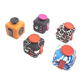Combo 5  Khối Vuông Fidget Cube - Quà Tặng Kì Diệu Giảm Stress Tăng Khả Năng Tập Trung (Giao Mẫu Ngẫu Nhiên )