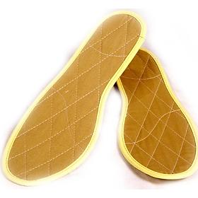 Combo 2 Đôi Lót Giày Quế Vải Cotton Khử Mùi Hôi- Hút Ẩm Chân Hiệu Quả, Cải thiện sức khỏe