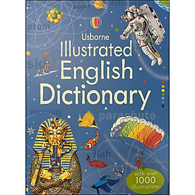 Usborne Illustrated English Dictionary (With Over 1000 Illustrations)