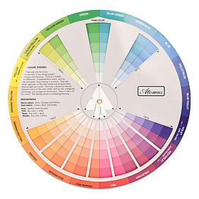 Bảng hỗ trợ pha màu trang trí nghệ thuật
